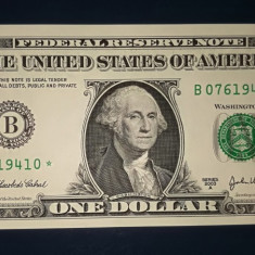 SUA - 1 $ 2003 A series - Federal Reserve Star Note - Replacement - bancnota america