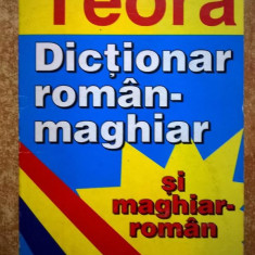 Eva Turcu - Dictionar maghiar-roman si roman-maghiar {Teora, 2000}