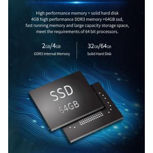 Mini PC Windows 10 Intel Z8350 CPU Quad Core 1.44-1.92Ghz, 4GB Ram Stick
