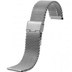 Bratara MILANEZA ceas metalica impletita 16mm 18mm 20mm 22mm 24mm