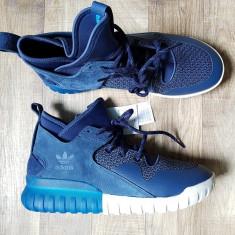 Adidas Originals Tubular X Navy adidas ghete tenisi shoes marime 45 - Adidasi barbati, Marime: 45.5, Culoare: Albastru