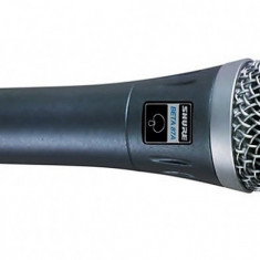 Microfon profesional cu fir, uni-directional, 800 Ohm, metalic, premium