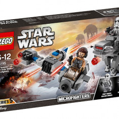LEGO Star Wars - Ski Speeder contra Walker al Ordinului Intai Microfighters 75195