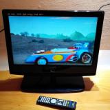 TV LCD 12V AUTO 19 INCH +USB STICK + DVD PLAYER INCORPORAT + SD-CARD HDMI DIKOM