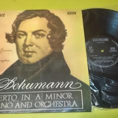 Vinil Disc Robert Schumann muzica clasica simfonie pian orchestra - electrecord