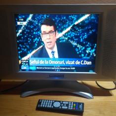 TV LCD 15 INCH ALIMENTARE 12V AUTO SINUDYNE 15320 LIGHT - Televizor LCD, Sub 48 cm, HD Ready, Scart: 1, VGA: 1