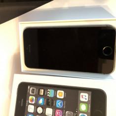 Apple iPhone 5S 16GB Space Grey la cutie ca nou, Gri, Neblocat