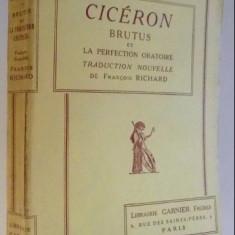 Brutus et la perfection oratoire  / Cicero ed. critica bilingva F. Richard