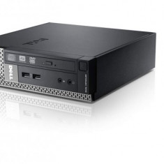 Calculator Dell Optiplex 7010 Desktop USFF, Intel Core i3 Gen 3 3220 3.3 GHz, 4 GB DDR3, DVD-ROM - Sisteme desktop fara monitor