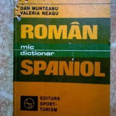 D. Munteanu, V. Neagu – Mic dictionar roman-spaniol
