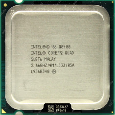 Procesor Intel Core2 Quad Q8400 2.66 GHz - Procesor PC Intel, Numar nuclee: 4, 2.5-3.0 GHz, LGA775