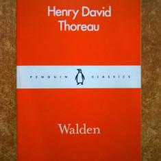Henry D. Thoreau - Walden {Penguin}{Lb. engleza} - Carte in engleza