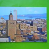 HOPCT 35290 TUNISIA TUNIS MOSCHEIA ZITOUNA SI HOTEL AFRICA -NECIRCULATA, Printata