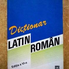 Voichita Ionescu - Dictionar latin-roman