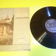Vinil Disc Corul De Camera Madrigal - Colinde Muzica Sarbatori Romania
