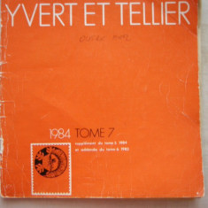 RWX 04 - CATALOG FILATELIC FRANCEZ - YVERT ET TELLIER - 1984