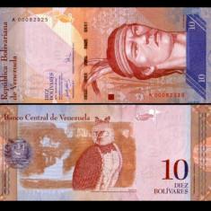 Venezuela 2007 - 10 bolivares UNC - bancnota america