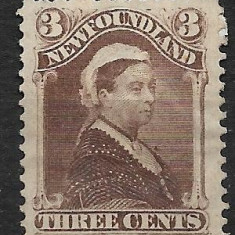 Newfoundland 1887, Nestampilat