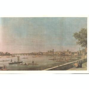 Reproducere pe panza tablou de B. CANALETTO dimensiuni : 30 x 20 cm
