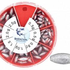 Cutie plumb culisant plumbi culisanti varga undita lanseta - Plumbi Pescuit