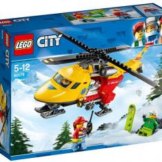 LEGO City - Elicopterul ambulanta 60179