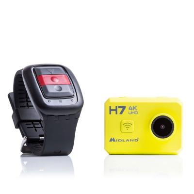 Resigilat : Camera video sport Midland H7 Action Camera ULTRA HD 4K cod C1236 foto