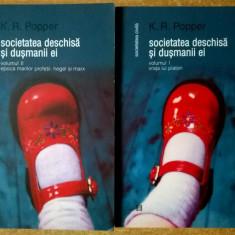 K. R. Popper - Societatea deschisa si dusmanii ei {2 volume} - Filosofie