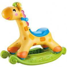 Girafa Interactiva cu Sistem Balansare - Tobogan copii