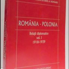 Romania - Polonia: Relatii diplomatice 1918-1939 / Florin Anghel - Istorie