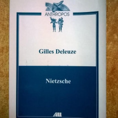 Gilles Deleuze – Nietzsche - Carte Filosofie