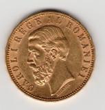 *  Moneda 20 lei 1890 aur - P
