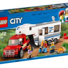 LEGO City - Camioneta si rulota 60182