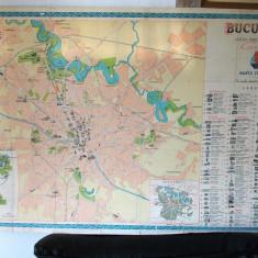 Harta veche Bucuresti- anii