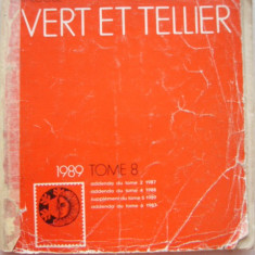 RWX 04 - CATALOG FILATELIC FRANCEZ - YVERT ET TELLIER - 1989