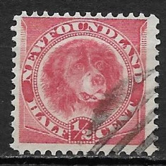 Newfoundland 1887, Stampilat