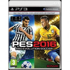 Pes 2016 Pro Evolution Soccer Ps3 - Jocuri PS3