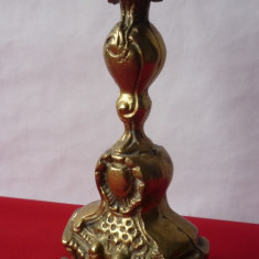 SFESNIC BAROC DIN BRONZ MASIV - Metal/Fonta