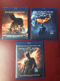 Colectia completa Batman, The Dark Knight , 3 filme blu ray , NOI, Romana, warner bros. pictures