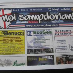 Sampdoria - Catania - (16 martie 2008), program de meci - Program meci