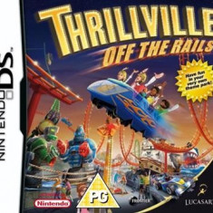 Thrillville Off The Rails Nintendo Ds - Jocuri Nintendo DS Activision, Actiune, 12+