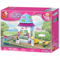 Joc tip Lego SLUBAN Girls dream 205 piese - Set de constructie
