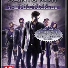 Saints Row The Third The Full Package Pc - Joc PC Thq, Role playing, 18+