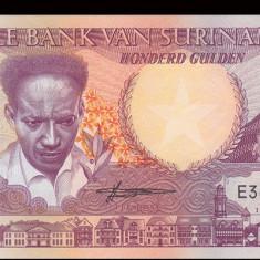 SV * Suriname 100 GULDEN 1986 UNC