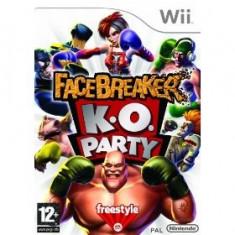 Facebreaker K.O. Party Wii - Jocuri WII Electronic Arts, Actiune, 12+