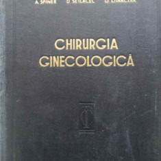 Chirurgia Ginecologica Tehnica Si Tactica - P. Sirbu A. Spiner I. Chiricuta D. Setlacec A. Pan, 409102 - Carte Chirurgie