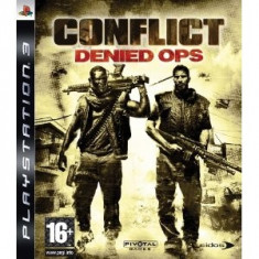 Conflict Denied Ops Ps3 - Jocuri PS3 Eidos, Shooting