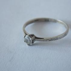 Inel argint cu zirconiu -2139
