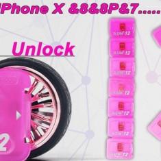 R-SIM 12 decodare si activare iPhone X, iPhone 8+/8, iPhone 7+/7 - Gevey SIM