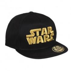 Sapca Star Wars Gold Classic Logo Black - Sapca Barbati