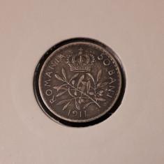 50 bani 1911 Patina - Moneda Romania
